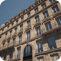 Paris Building Haussmann