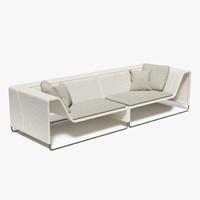 Paola Lenti - Island Sofa