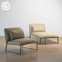 3d model kekke couch