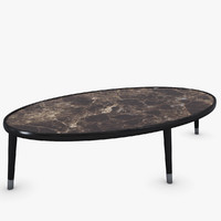 3d porada bigne coffee table model