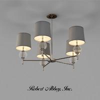 3d model robert abbey latitude chandelier