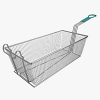 Square Fry Basket 01