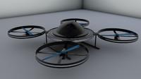 drone machine 3d model