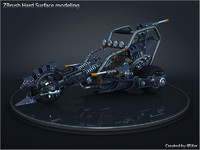 3dsmax concept bike