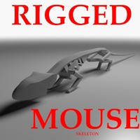 Rigged Mouse Skeleton