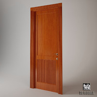 3d 3ds door liveroom modern