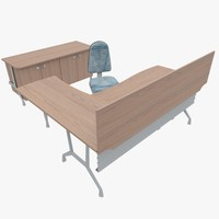 office furniture 3d ma