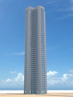 skyscraper nr 6 3d model