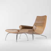 3d model wegner chair erik jorgensen
