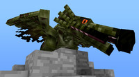cinema4d minecraft