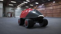 3d model concept car ladybird