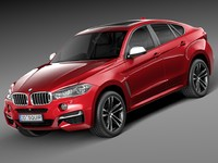 BMW X6 M power 2015