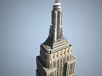 3ds max empire state building