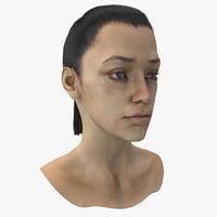 female head 6 3d max