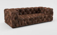 3d model sofa soho leather
