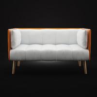 3dsmax modern sofa