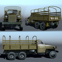 3d model studebaker u6 truck car
