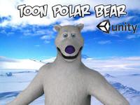 fbx toon polar bear unity