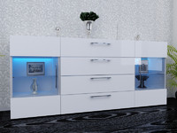 3ds max bedroom dresser commode
