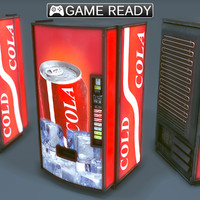 soda vending machine x