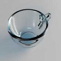 3d model glass cup