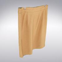 skirt scanning 3d max