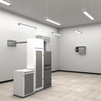 telecom power center 3d fbx