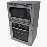 3ds max bosch double wall oven