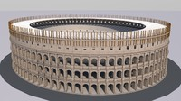 3d colosseum v2 model