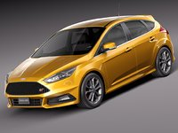 2015 st focus 3d model