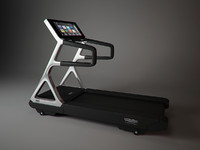 3d model of run personal technogym