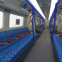 gen tube train passenger 3d x