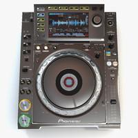 3d pioneer cdj2000 nexus platinum
