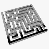 3d model labyrinth