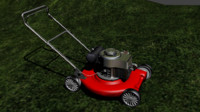 blend lawn mower