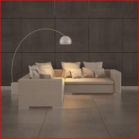 nice sofa 05 3d max