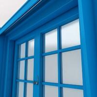 3d window scene model
