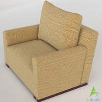 3d jewel box club chair model