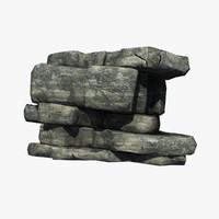 3dsmax rocky cliff