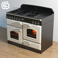 3d falcon range cooker model