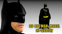 Batman Returns Realistic 3D Model