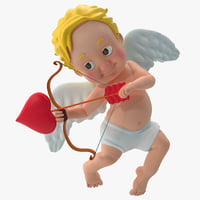 3d cartoon cupid 3