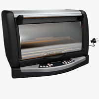 3d model infrawave oven