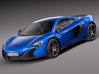 3ds max 2015 coupe mclaren