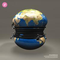3d faucets globe model