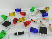 3d model electronic components ic