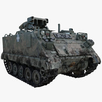 US Army Armored Vehicle M901 ITV 2