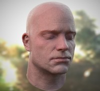 Head Scan Generic White Male