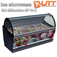 ice showcase isa 12 3d model