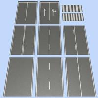 3ds max road mht-02 2 lane